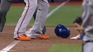 MLB Playback - Interesting Plays Compilation 2017 Year End