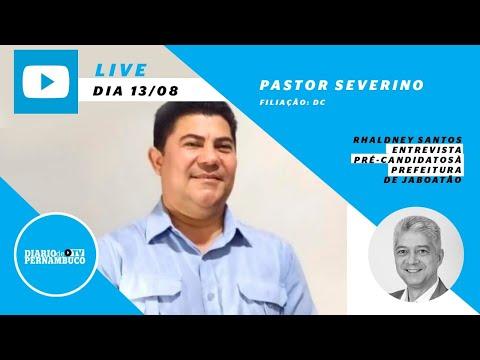 Rhaldney Santos entrevista o pré-candidato à prefeitura de Jaboatão Pastor Severino