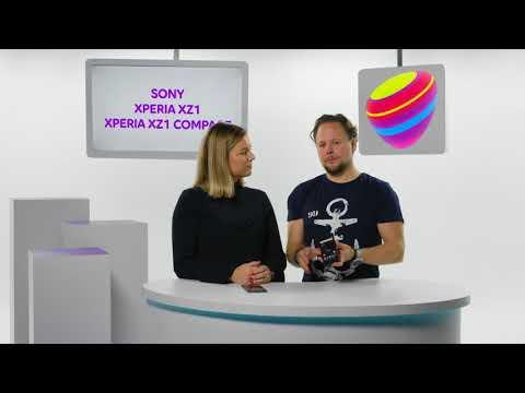 Nya Sony Xperia XZ1 och Xperia XZ1 Compact