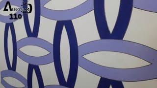 3d wall decoration effect | 3d wall texture new design ideas | 3d wall painting | interior design