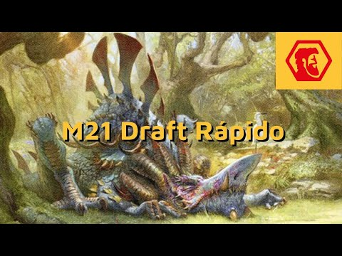 MTGA M21 Draft Rápido - Selesnya 5x Tiranodonte (!!!)