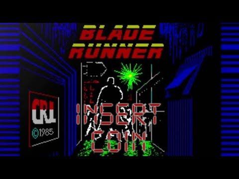 Blade Runner (1985) - Commodore 64 - Análisis comentado
