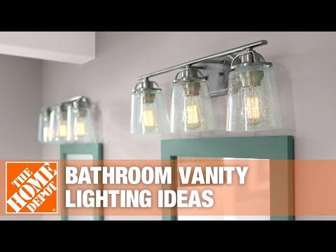 A video on bath vanity lighting