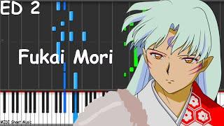 Inuyasha - Fukai Mori Piano midi