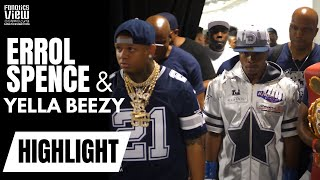 Errol Spence Jr. & Yella Beezy Full Walkout with Dallas Fan Reactions