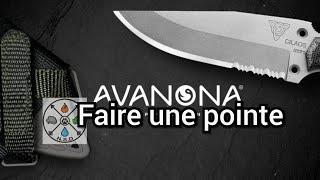 (Survie/Bushcraft) ASTUCE Faire une pointe avec un couteau