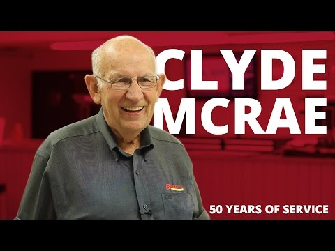 Birkey's: 50 Years of Service - Clyde McRae