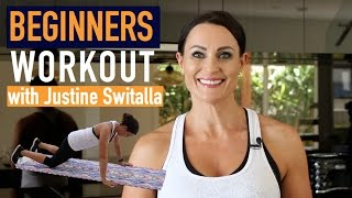 Beginners Workout | Justine Switalla | Health & Beauty Circle