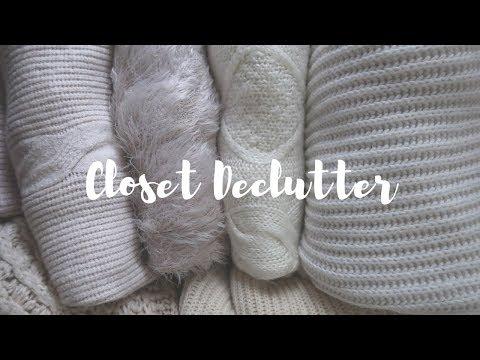 Massive Closet, Shoe & Bag Declutter | A/W 2018