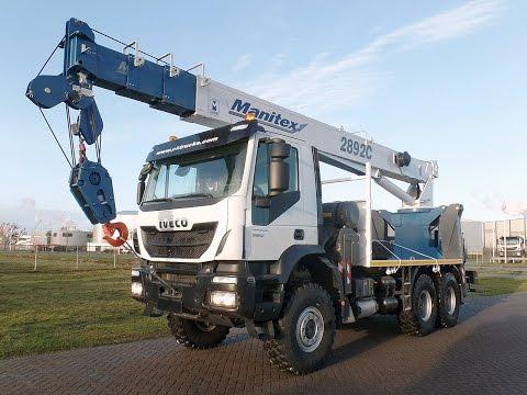 iv3706 Iveco 6x4 with Manitex crane