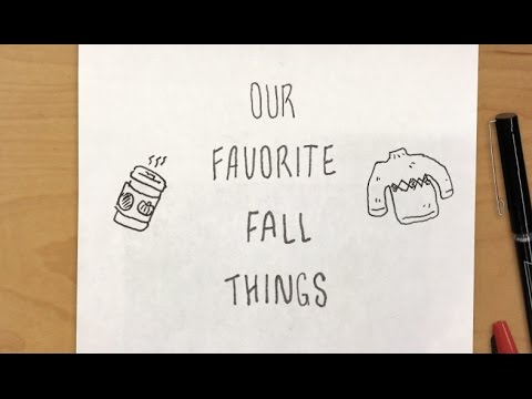 Our Favorite Fall Things