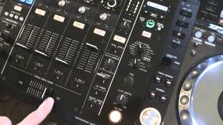 Pioneer DJM900 NEXUS. Tutorial 7. Effects Dial and Effects asign Dial