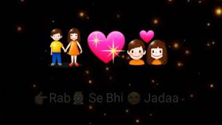 Tujhe chaaha rab se bhi jada song video