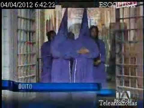 Procesión de Viernes Santo en Quito