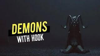 "Tech N9ne x Post Malone x Eminem type beat with hook | Rap Instrumental with hook ""DEMONS"""