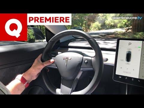Tesla Model 3, l'abbiamo guidata in anteprima!