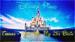 "Disney Piano - Tangled ""When Will My Life Begin"" - Relaxing Piano"