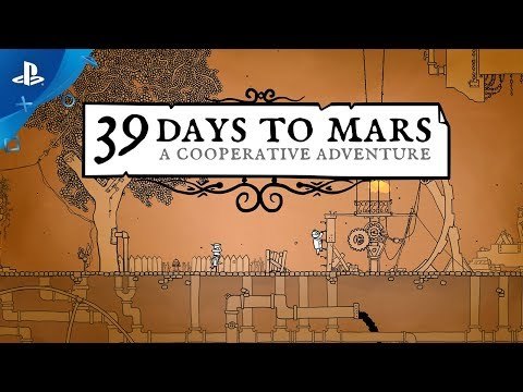 39 Days to Mars - Gameplay Trailer   PS4
