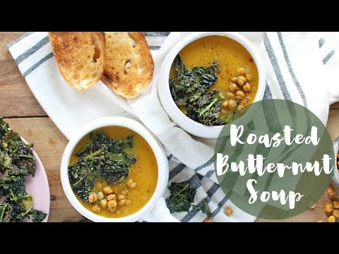 Roasted Butternut Squash Soup Recipe | Healthy Dinner Recipes
