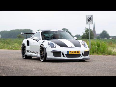 LOUD Porsche 991 GT3 RS with Akrapovic Exhaust - Acceleration Sounds !