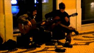 Traditional Portuguese music in Lisbon (HD)