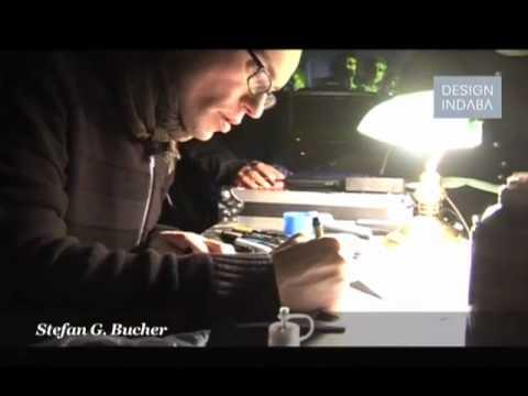 Stefan G. Bucher draws monsters at Design Indaba 2010