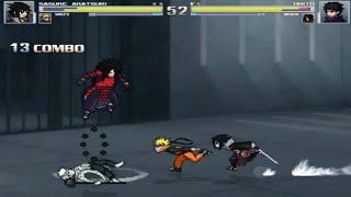 Mugen - Naruto and Sasuke vs Madara and Obito - 1/5