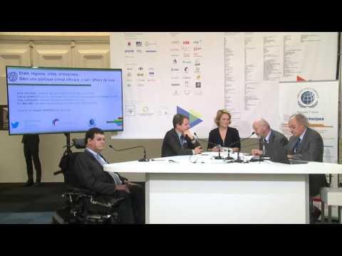 [COP21] Plateau TV : Quelles politiques Climat et quelles solutions pour les organisations ?