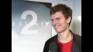 Ansel Elgort sees gaming as a 'time to chill'
