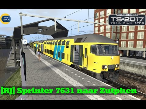 [RJ] Sprinter 7631 naar Zutphen | DDAR + 1767 | Train Simulator 2017