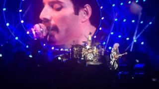 Queen with Lambert, Bohemian Rhapsody, live in Sofia 2016