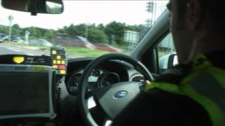 How to respond to Blues and Twos on the Road (Cumbria Police)