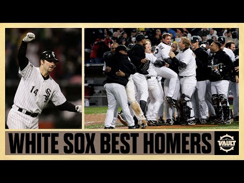 The Chicago White Sox franchise's BEST and MOST CLUTCH Home Runs of the 21st Century!