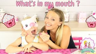♡• CHALLENGE WHAT'S IN MY MOUTH FRANCAIS - ROXANE ET LOUANE •♡