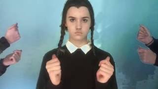 Addams Family Sign Language
