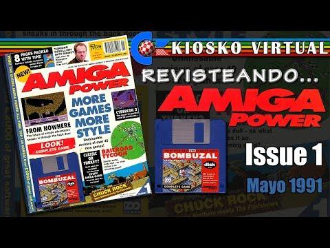 Amiga Power Issue 1 Mayo 1991 | Revisteando | Magazines/Revistas | El Kiosko Virtual