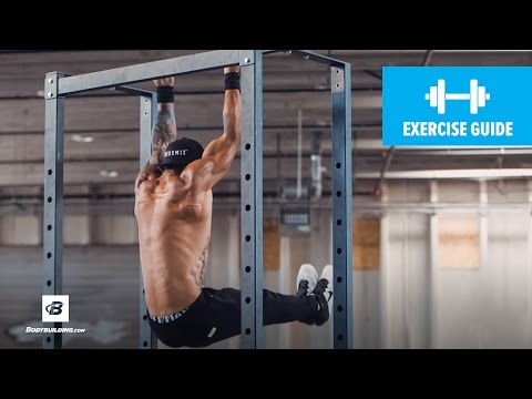 L-Sit Chin-Up | Exercise Guide