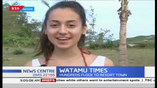 Hundreds flock Watamu over festive period