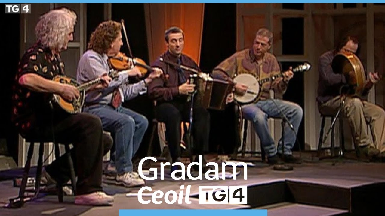 Irish Folk Band De Danann, at the TG4 Traditional Irish Music Awards