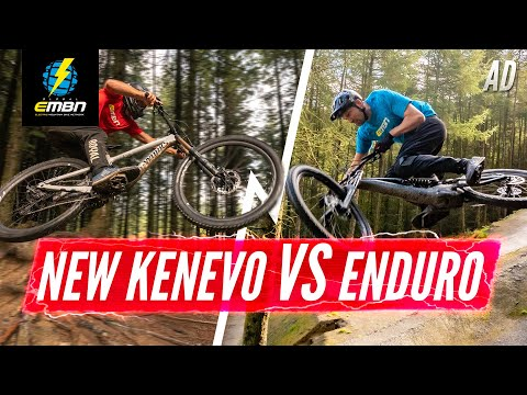 Enduro MTB Vs. Enduro E-MTB | What's The Difference? 2020 Specialized Kenevo Vs. Enduro