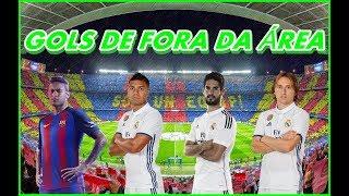PES2017 - GOLS DE FORA DA ÁREA