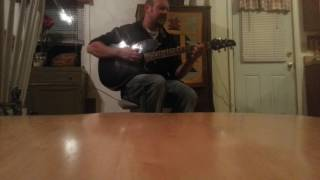 """Pearl Jam Cover """"elderly woman behind the counter in a small town"""" performed by Jeremy McCloskey"""
