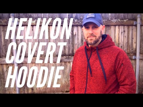 Helikon Covert Tactical Hoodie: Slick Hoodie with 8 Pockets to Hold Your Gear
