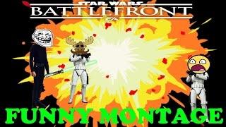 Star Wars Battlefront Funny Montage 4