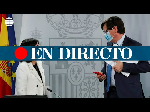 DIRECTO CORONAVIRUS | Rueda de prensa tras la reunión interterritorial