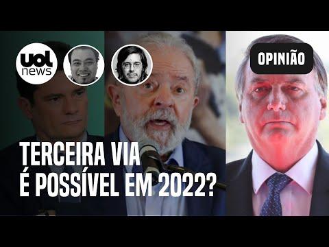 """Eleições 2022: Joel Pinheiro e Sakamoto comentam disputa entre Lula e Bolsonaro ou """"terceira via"""""""