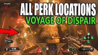 Voyage of Despair All Perk Locations (Black Ops 4 Zombies) All Perk Machine Location Guide