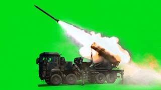 Missile Launch Green Screen Free Stock Video