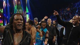 R-Truth es felicitado por la plantilla de WWE en su cumpleaños