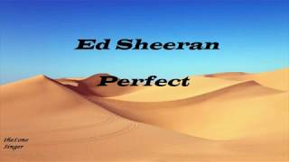 Ed Sheeran -  Perfect  ( Karaoke Version VIOLIN )  Lyrics